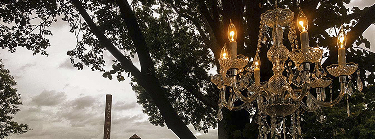 Chandelier weddings events richmond