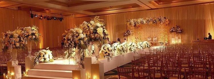 Uplighting Indian Wedding