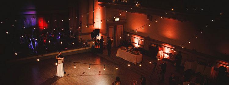 wedding lighting costs