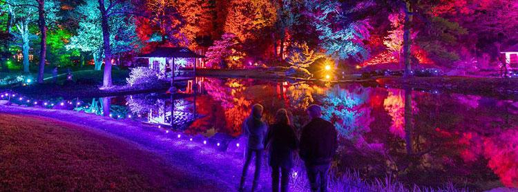 Michael Simon Photo Maymont Garden Glow Outdoor Event Lighting Richmond