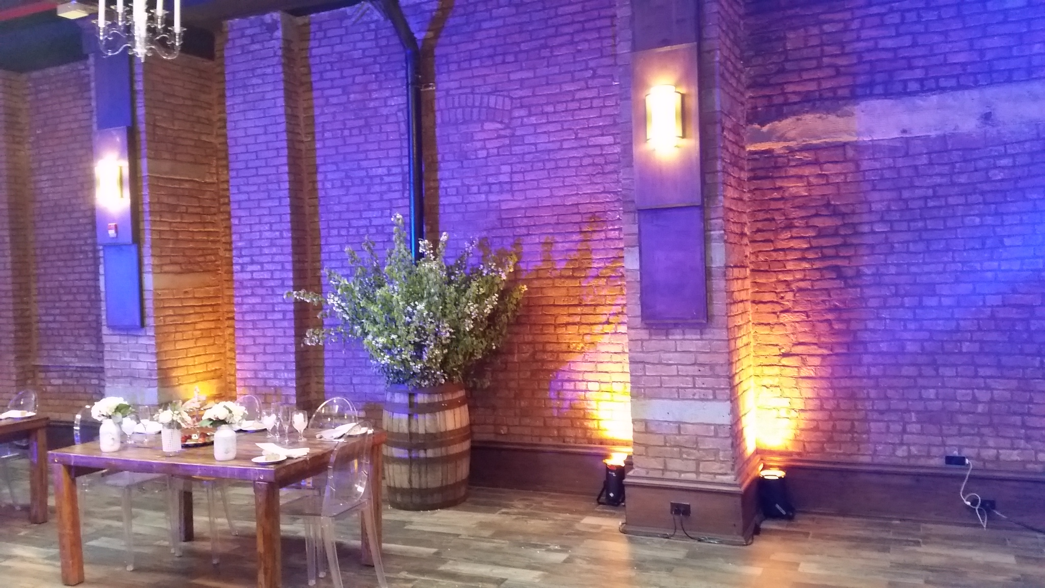 Wedding Up Lighting, Brooklyn New York