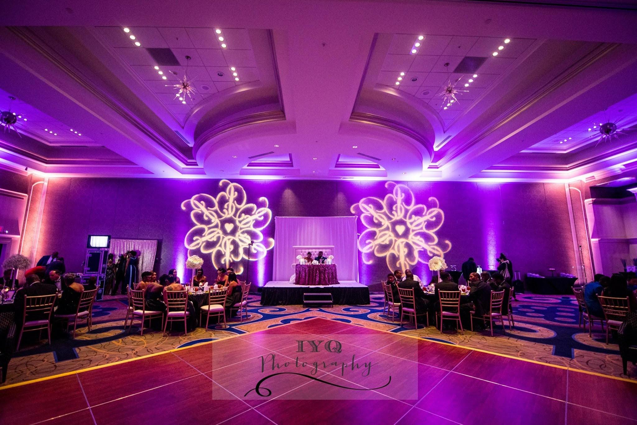 Wedding Uplighting Hilton Virginia best