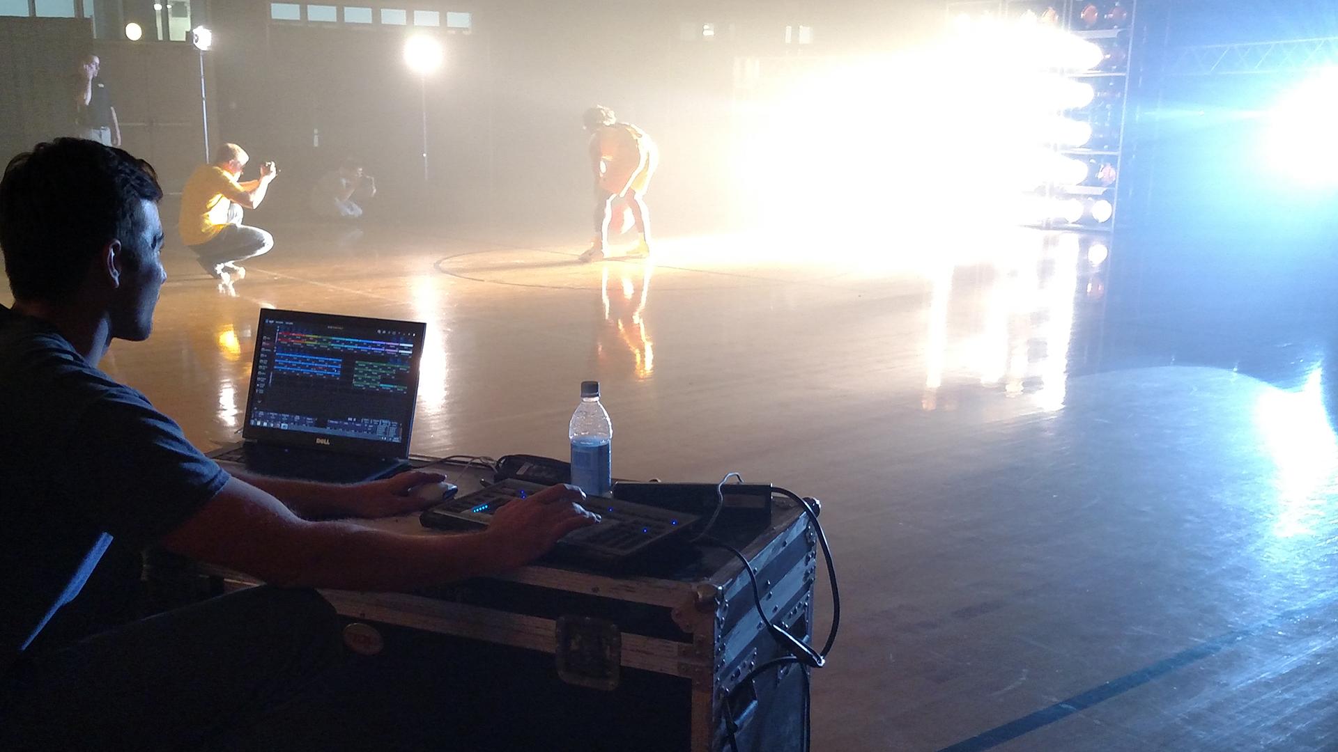 Lighting Designer Martin MPC VCU Basketball