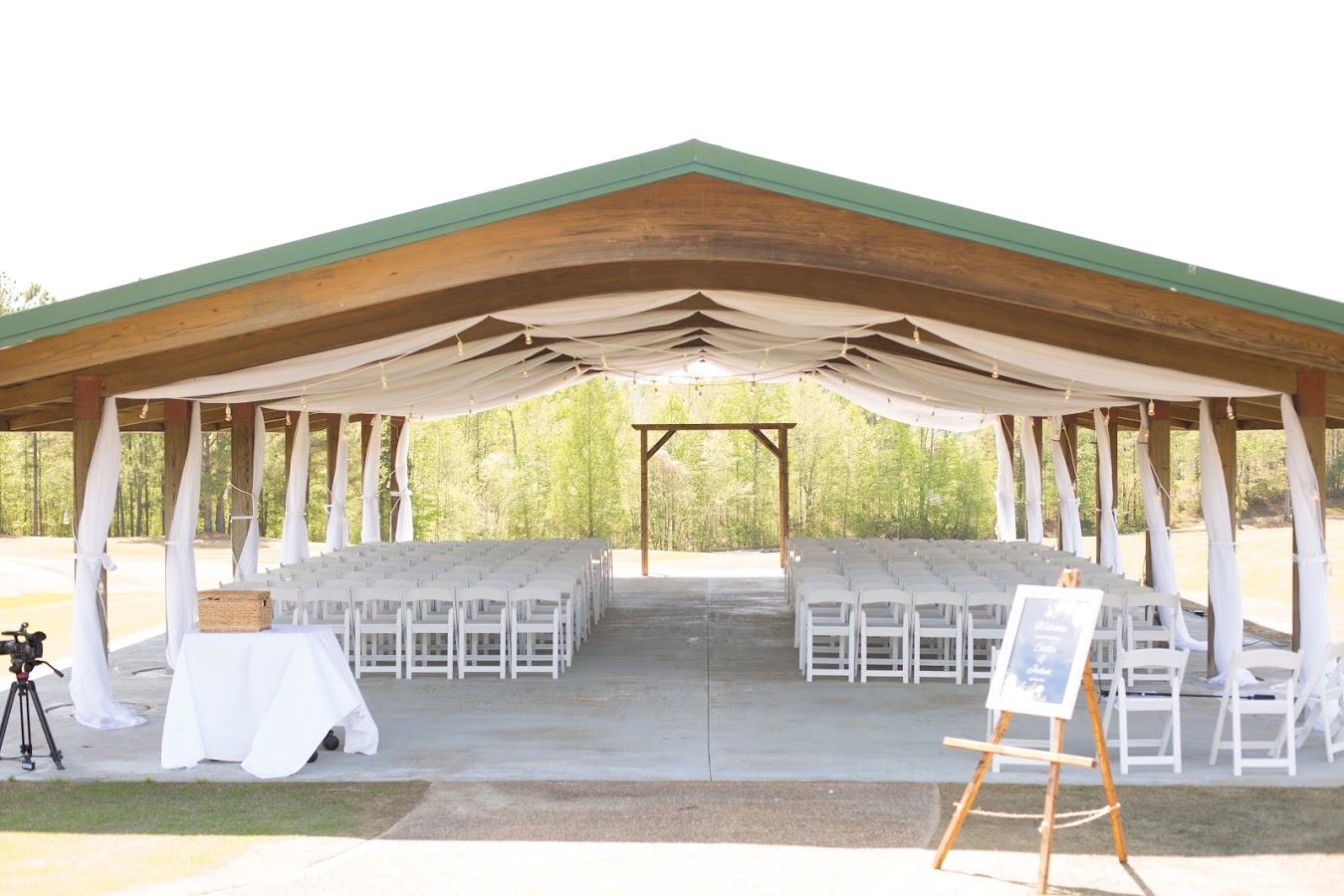 Independence Golf Club Wedding Drape