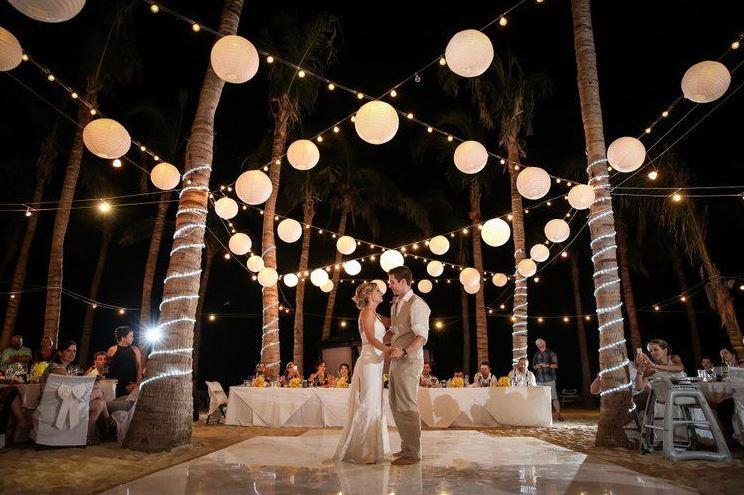 Virginia Beach wedding lighting