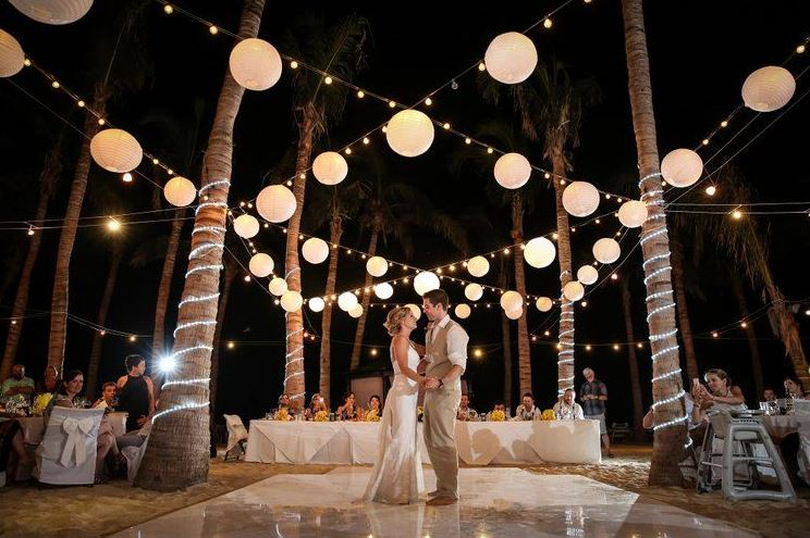 Virginia Beach wedding lighting
