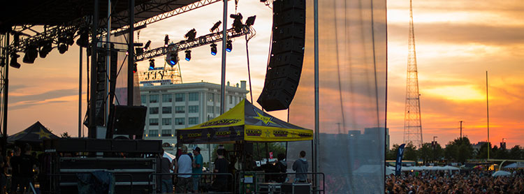 Concert Lighting Company Truck Stage