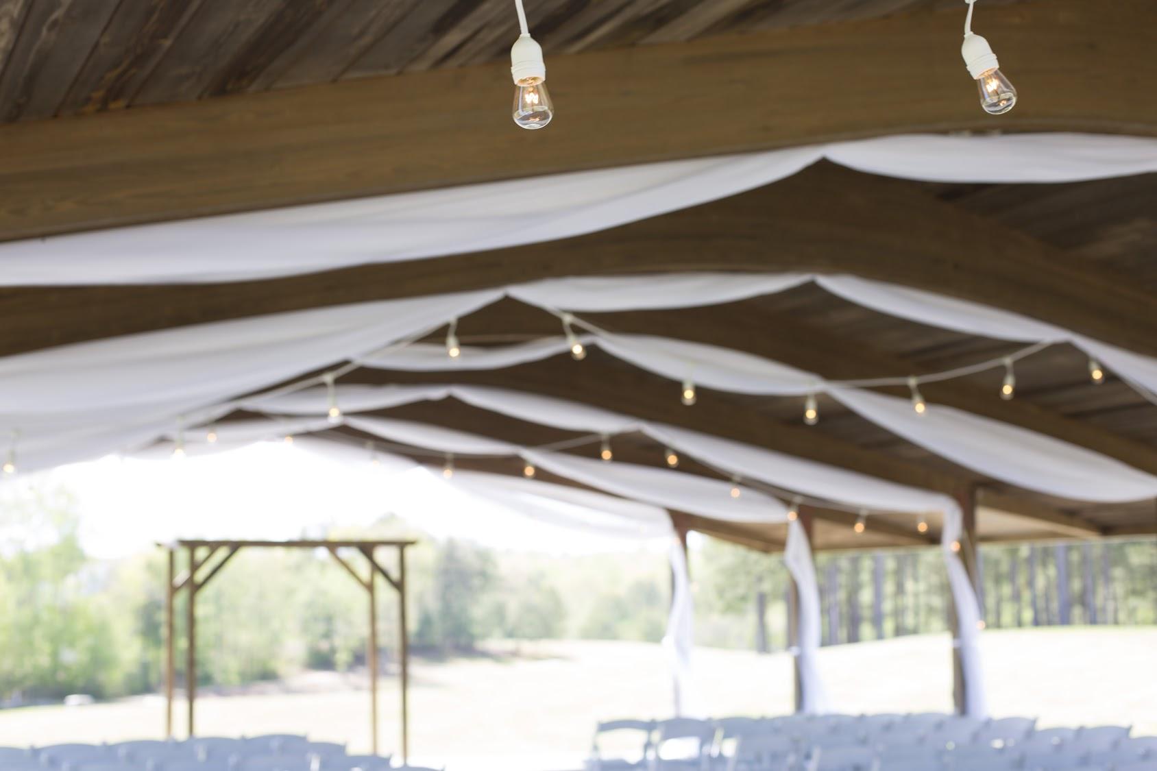 Wedding Drape Independence Golf Club