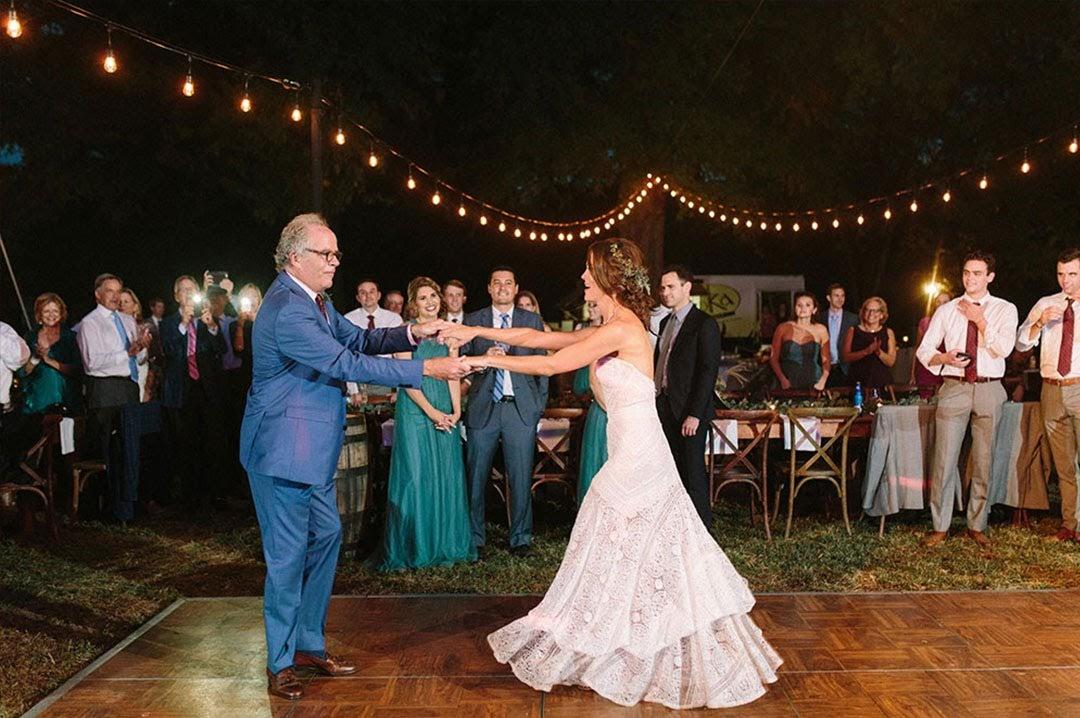 bistro wedding lighting charlottesville