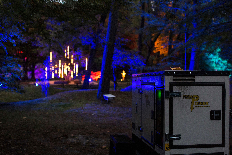 Outdoor Temp Power Generators Event