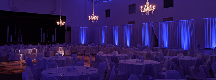 lighting and decor room transformation greek wedding